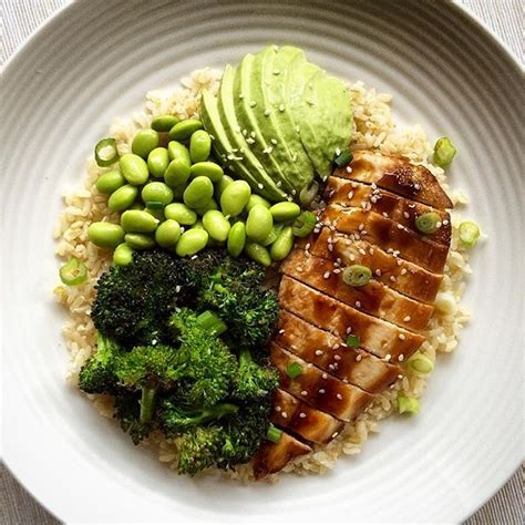 Fish Brown Rice And Vegetable Detox Diet by Dinner Last Was Teriyaki Chicken With Broccoli