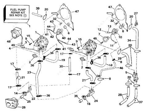 evinrude etec parts diagram 90 hp johnson outboard motor fuel filters further mercury
