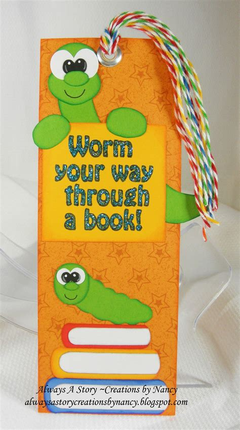 bookworm bookmark template bookworm bookmark scrapping goodies i ve made
