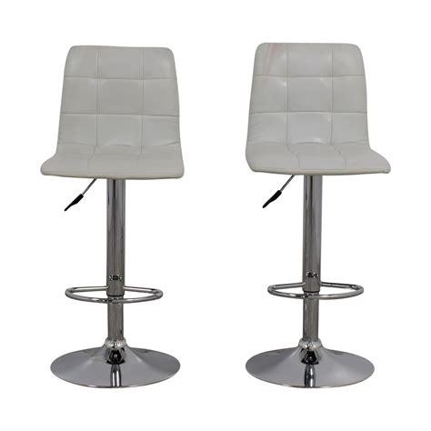 Zuo Modern Bar Stools White 90 zuo modern zuo modern white oxygen bar stools