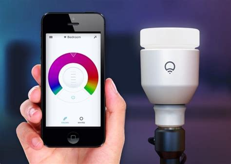 light bulbs that gradually get brighter lifx led light bulb review rating pcmag com