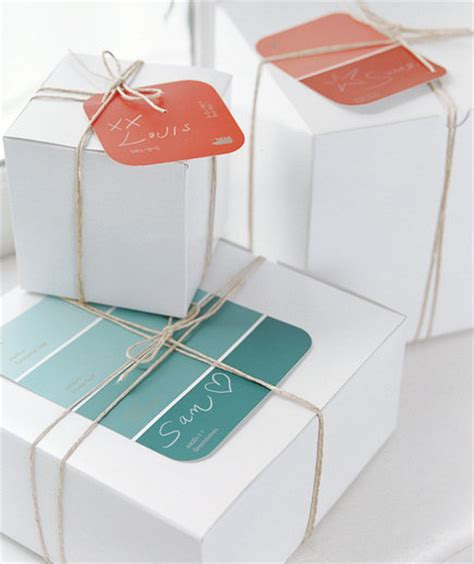 paint gift ideas even paint chips can make imaginative and inexpensive