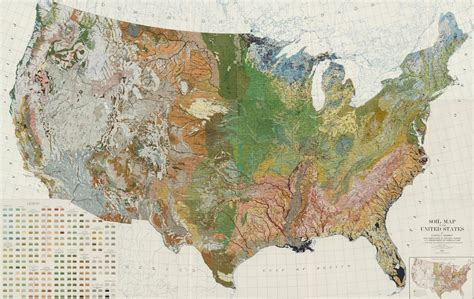 map of the united states zoomable soil map of the united stites 1931 ecoclimax