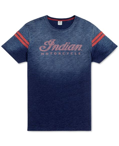 boat neck t shirt mens india lyst lucky brand indian indigo t shirt in blue for men