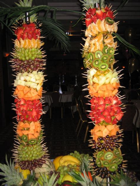 palm tree made of fruit maddycakes muse fruit palm tree