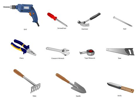 Design For Manufacturing Tools | manufacturing and maintenance solution conceptdraw com