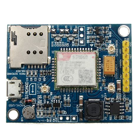 Board X16 Gps Sett Include Gps Module sim868 development board gsm gprs bluetooth gps module no antenna version alex nld