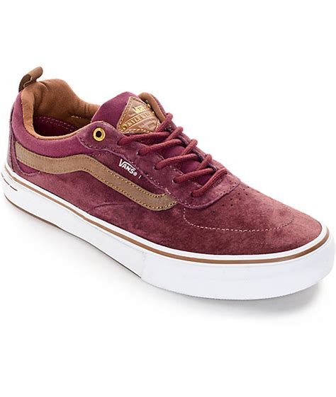 Jual Vans Kyle Walker Pro vans kyle walker pro and brown skate shoes
