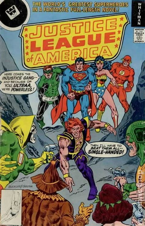 justice league the of the books justice league of america 1960 1st series whitman comic