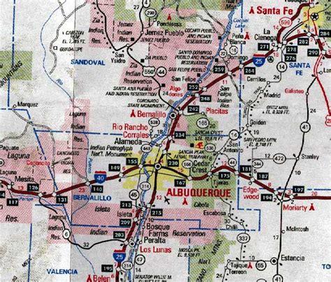 new mexico road map bernalillo county new mexico resources nmgenweb