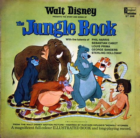walt disneys the jungle walt disney the jungle book vinyl lp album at discogs