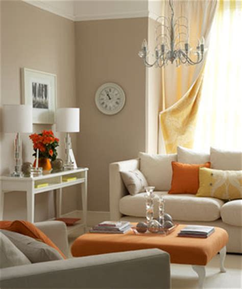 orange living room decor decorating with orange