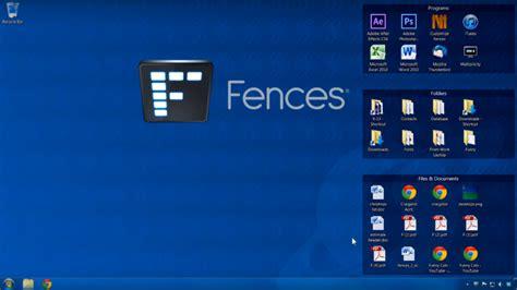 fences organiser votre bureau windows mais pas que