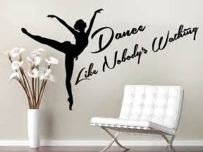 aliexpress com buy dance wall decal sport quote studio wallstickers folies dancer wall stickers