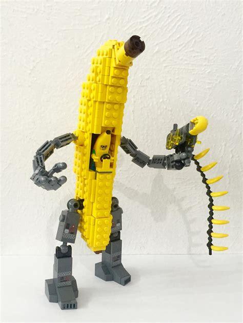 Gelang Lego Banana Kalung Lego Banan lego in banana suit piloting banana mecha shooting