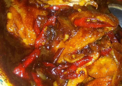 resep ayam kecap pedas manis oleh fitriani rizki nugraha