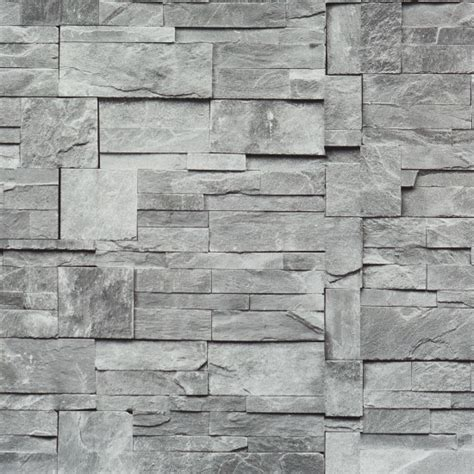 wallpaper grey modern faux stone wallpaper grey sle contemporary