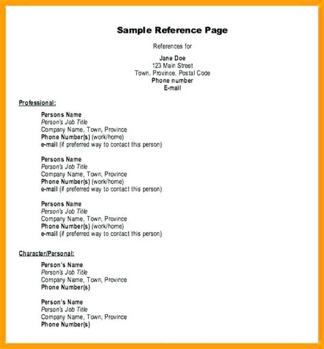 how to write a reference page for resume megakravmaga com