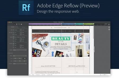javascript reflow layout 5 tools to help go responsive and build your own website