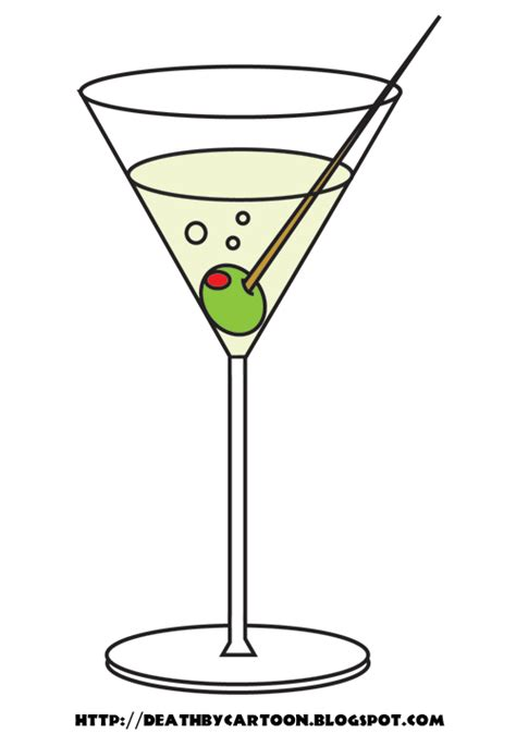 martini cup cartoon martini cartoon image