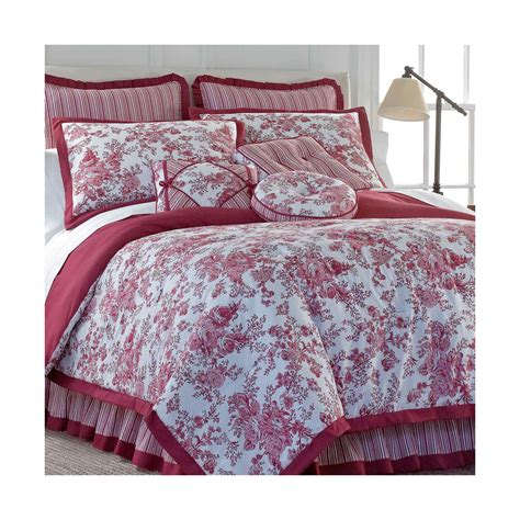 deals toile garden comforter set offer bedding sets store