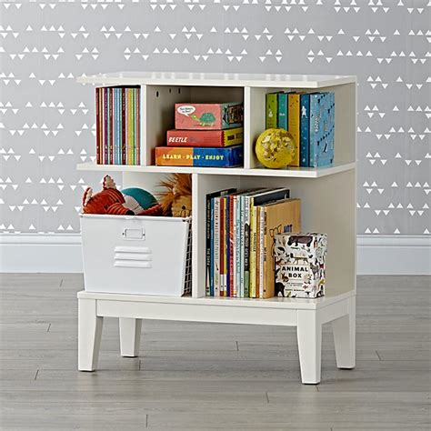 land of nod bookcase sprout small white bookcase the land of nod