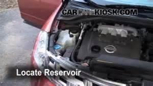 2004 Nissan Quest Transmission Fluid Transmission Fluid Level Check Nissan Murano 2003 2007