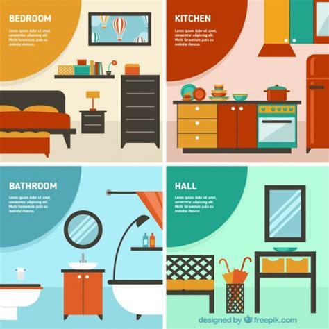 Disney Bedroom Furniture habitaciones en casa descargar vectores gratis