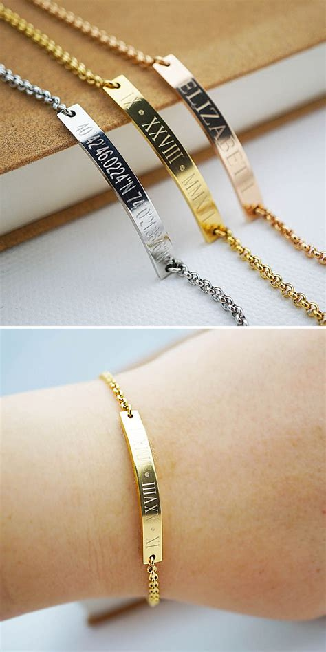 personalized engraving ideas best 25 engraved bracelet ideas on diy