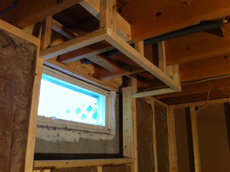 Framing A Basement Carefully Is A Must Framing Basement Windows