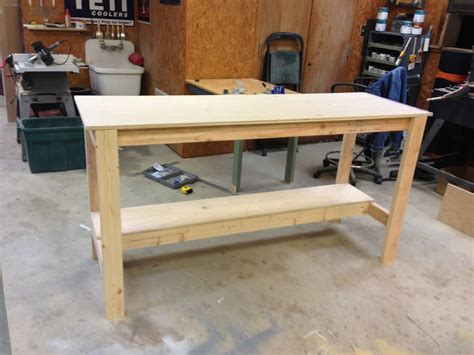homemade work benches diy workbench wilker do s