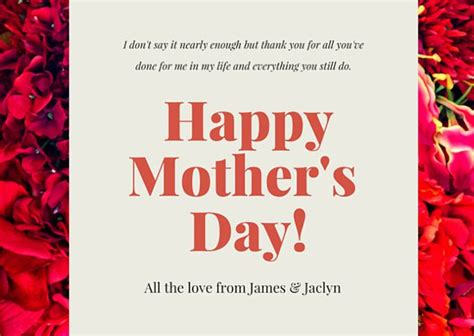 canva mother s day customize 94 mother s day card templates online canva