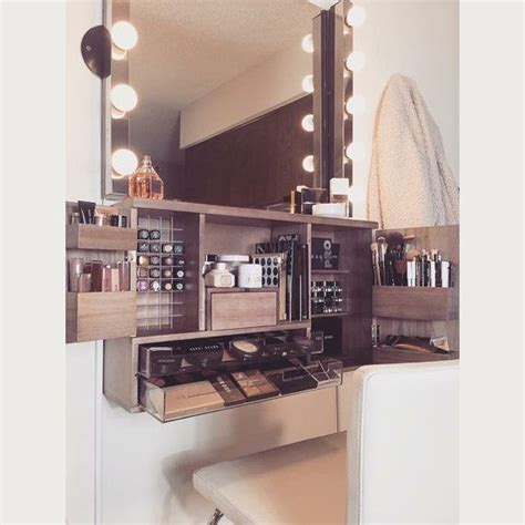 Wall Makeup Vanity by The 25 Best Makeup Organizer Countertop Ideas On