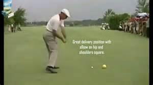 Ben Hogan Golf Swing Down The Line Driver Youtube