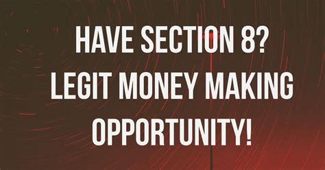 get section 8 have section 8 get paid today section 8 facts