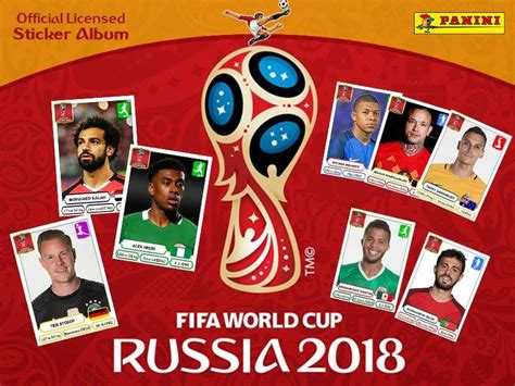 World Cup Stickers 2018