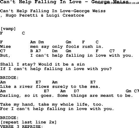 ukulele tutorial can t help falling in love song can t help falling in love by george weiss song