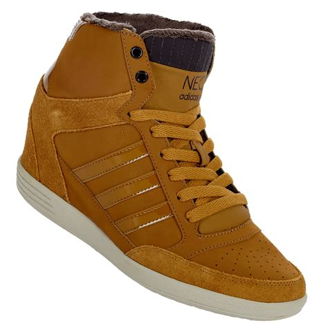 adidas neo weneo super wedge damen schuhe
