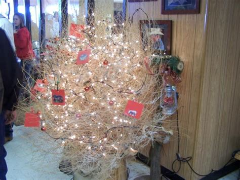 tumbleweed christmas tree texas pinterest