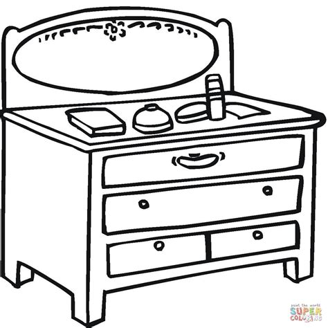 coloring table table coloring clipart best