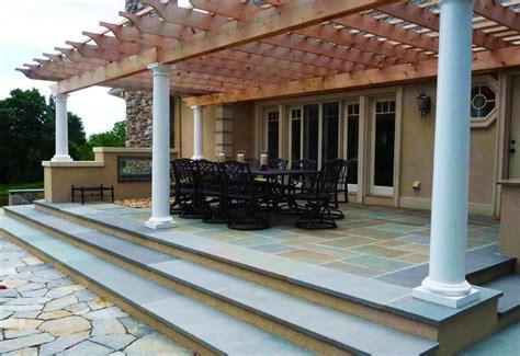 patio columns design backyard ideas landscape design ideas landscaping network