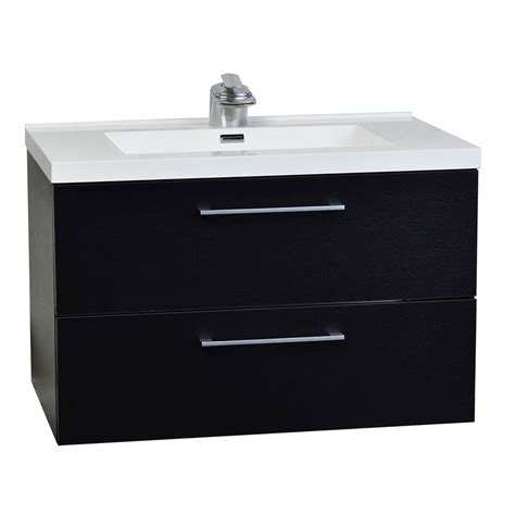 buy 33 5 in wall mount contemporary bathroom vanity set
