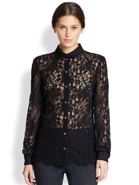 And Black Lace Blouse by Black Lace Blouse Fashion Ql
