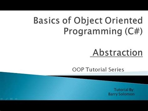 focus on object oriented programming with c programming series seventh edition books 2 abstraction basics of object oriented programming c