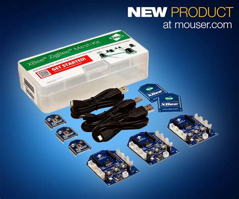 mouser offers mesh kit for home automation projects the