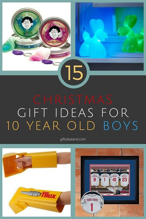 15 great christmas gift ideas for 10 year old boy