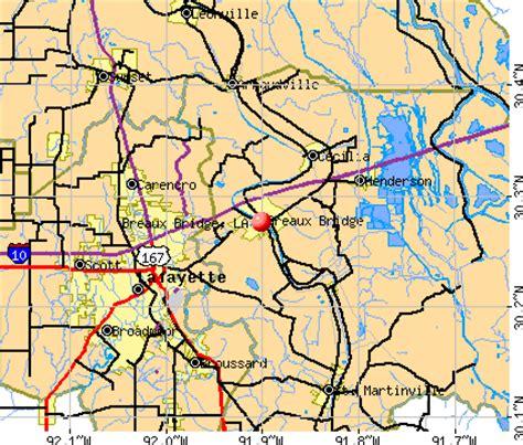 louisiana map breaux bridge breaux bridge louisiana la 70517 profile population