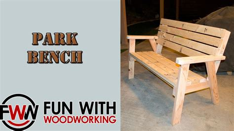 how to build a park bench project how to make a park bench with a reclined seat