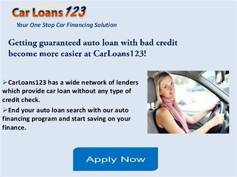 guaranteed car loan approval bad guaranteed car loan approval bad credit get instant
