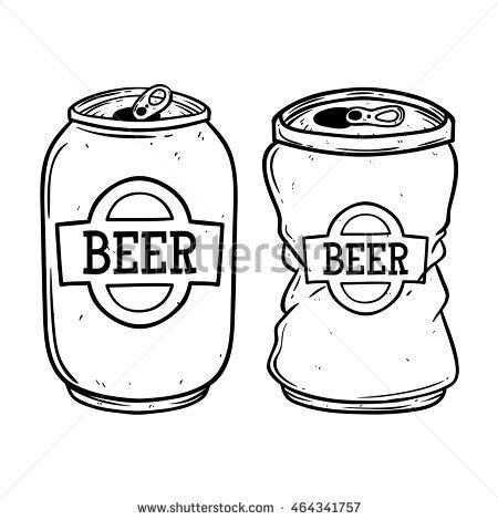 cartoon beer can padma sanjaya s portfolio on shutterstock